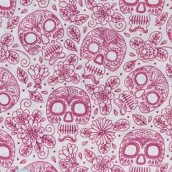 Ultralight Tube - Pink Skulls  - Uomo Bullish Made in Italy