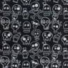Ultralight Tube - Skulls  - Uomo Bullish Made in Italy