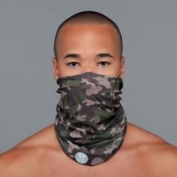 Ultralight Tube Reversible Pile Stretch - Camouflage - Uomo Bullish Made in Italy