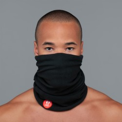 Ultralight Tube Reversible Pile Stretch - White Blu Skulls - Uomo Bullish Made in Italy