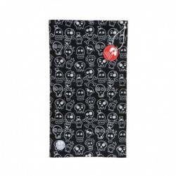 Ultralight Tube Reversible Pile Stretch - Skulls - Donna Bullish Made in Italy