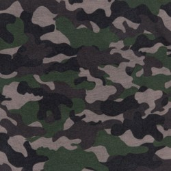 Ultralight Tube Reversible Pile Stretch - Camouflage - Donna Bullish Made in Italy