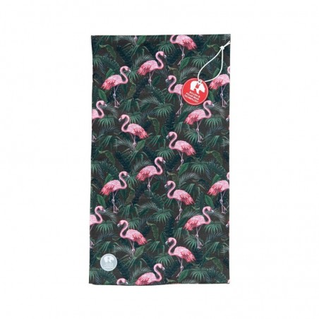 Ultralight Tube Reversible Pile Stretch - Green Flamingo - Donna Bullish Made in Italy