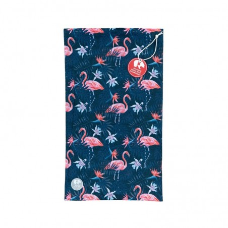 Ultralight Tube Reversible Pile Stretch - Blu Flamingo - Donna Bullish Made in Italy