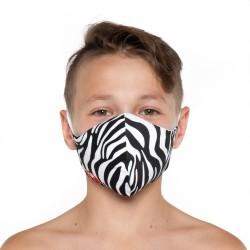 Mascherina Zebra - Bambino Bullish Made in Italy