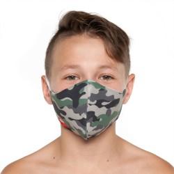 Mascherina Camouflage - Bambino Bullish Made in Italy