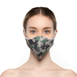 Mascherina Camouflage - Donna Bullish Made in Italy