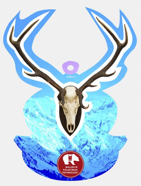 Deer Trophy Azure Bullish Display Bullish Made in Italy