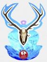 Deer Trophy Azure Bullish Display Bullish Made in Italy