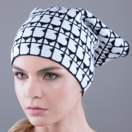 Gorro Pattern Colori con Logo Bullish Made in Italy