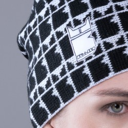 Gorro Pattern Logo Colorato Bullish Made in Italy