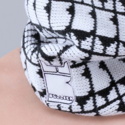 Gorro Pattern Jr Colori con Logo Bullish Made in Italy