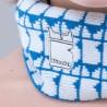 Gorro Pattern Jr Colori con Logo Bullish Made in Italy