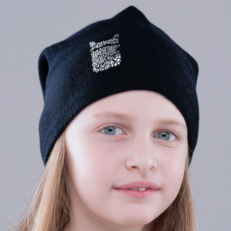 Gorro Jr Swarovski Bullish Made in Italy