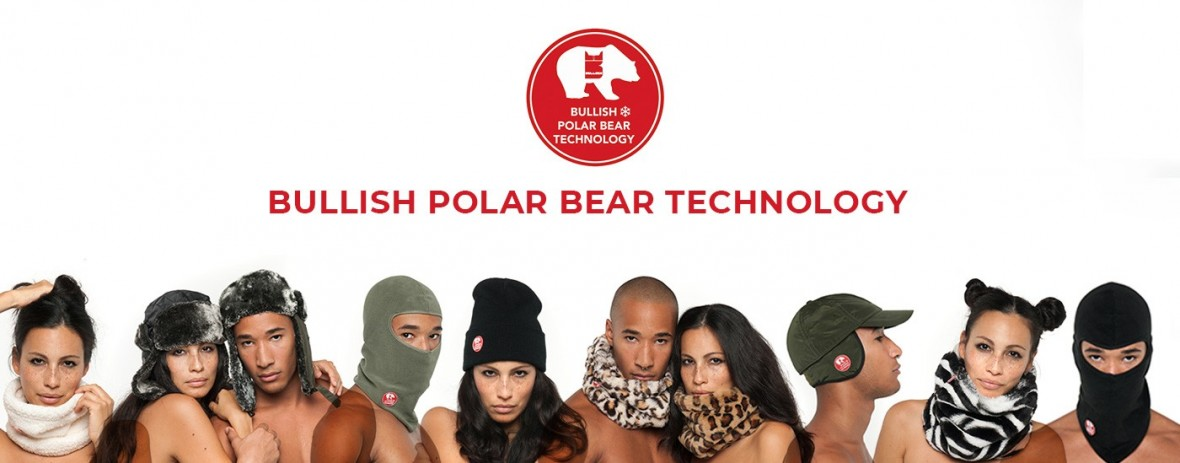Scaldacollo sportivo Polar Bear Technology| Bullish